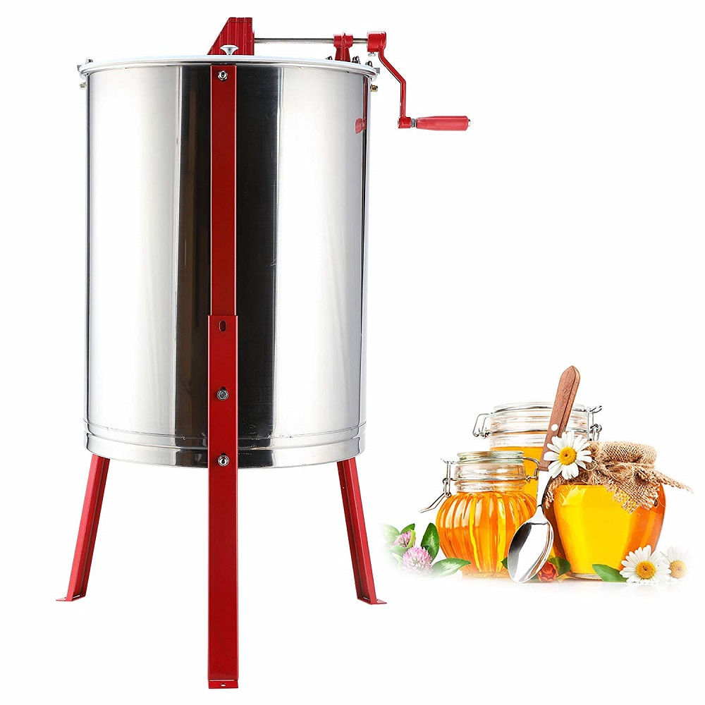 co z large stainless steel honey extractor