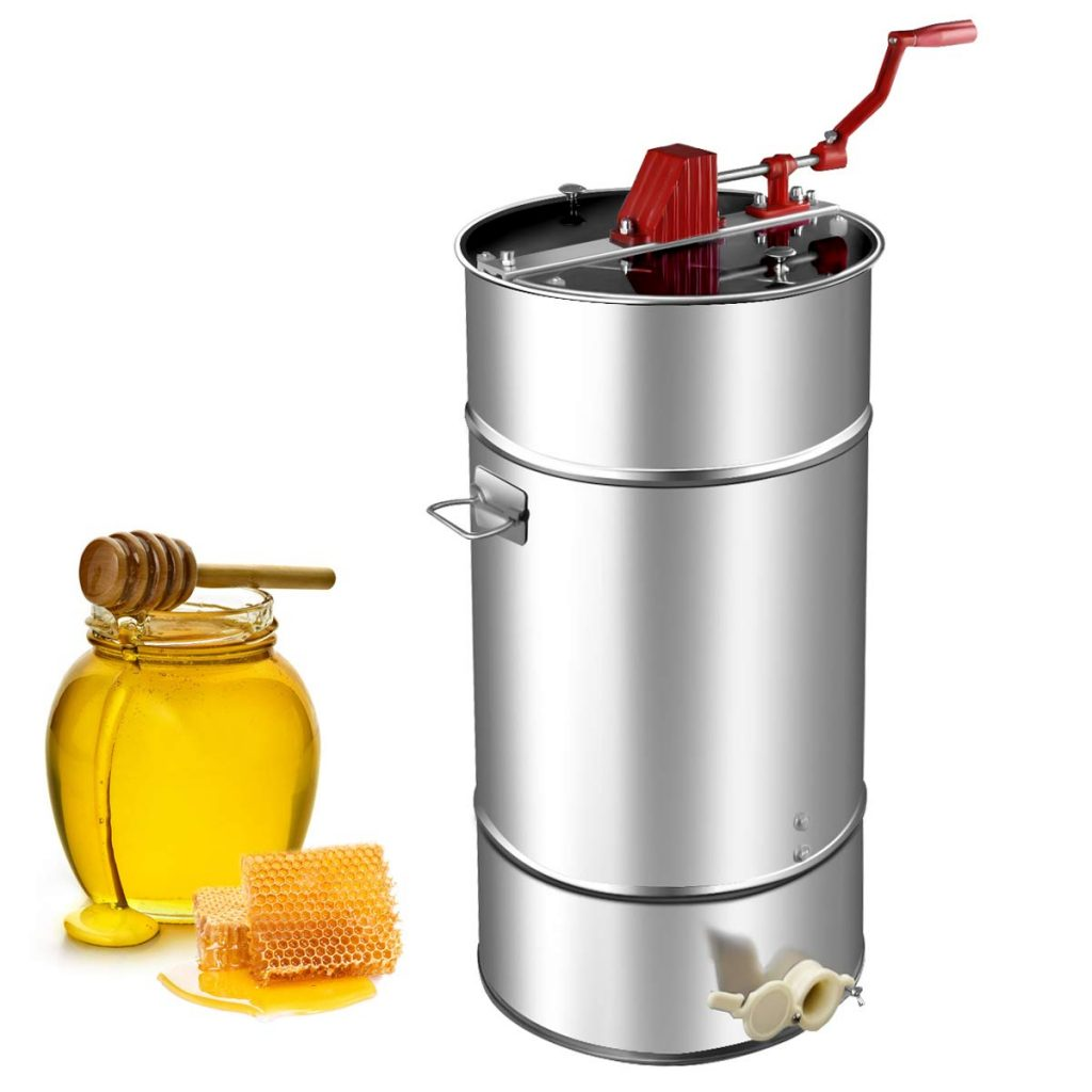 goplus manual honey extractor