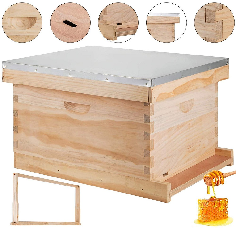 happybuy langstroth bee hive